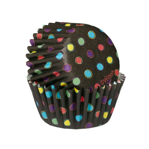 Wilton Minimuffinsform Black Neon