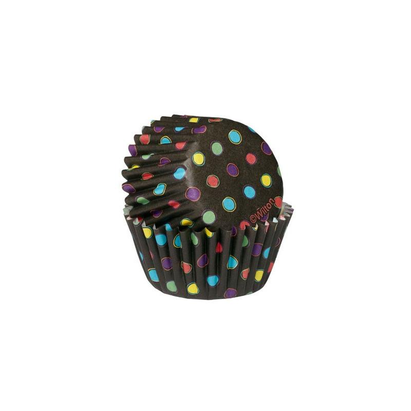 Wilton Minimuffinsform Black Neon