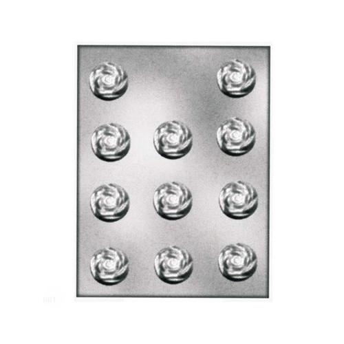Silikomart Pralinform i plast, Rosor