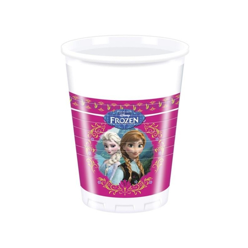 Disney Plastmuggar. Frozen
