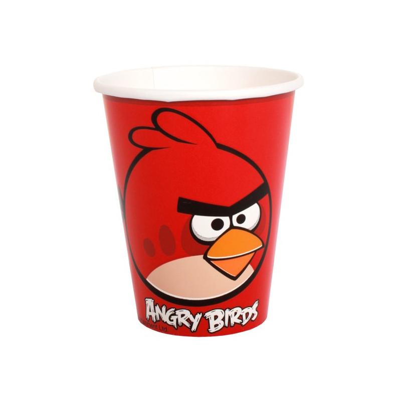 Pappersmuggar Angry Birds, röda