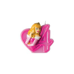 Disney Princess Tårtljus, Sifferljus, 4