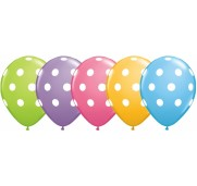 Qualatex Ballonger Big Polka Dots