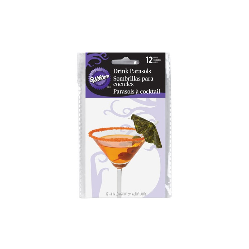 Wilton Drinkparaplyer Halloween