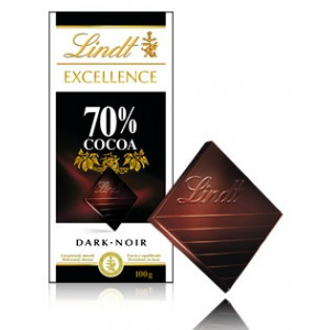 Lindt Excellence Choklad 70%