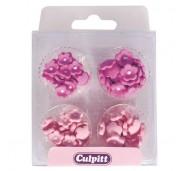 Culpitt Sockerblommor, rosa och lila