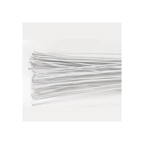 Culpitt Gum paste wire, metalltråd, vit, 0,25 mm