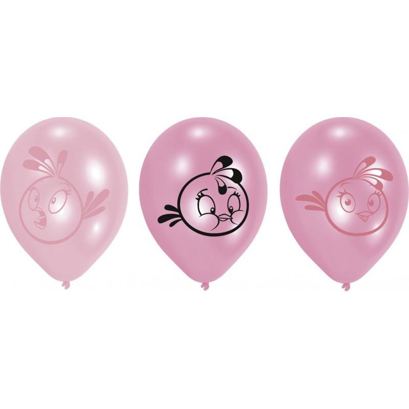 Ballonger Angry Birds Stella, rosa