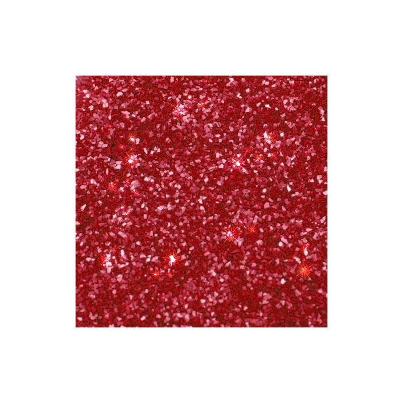 Rainbow Dust Ätbart glitter, röd