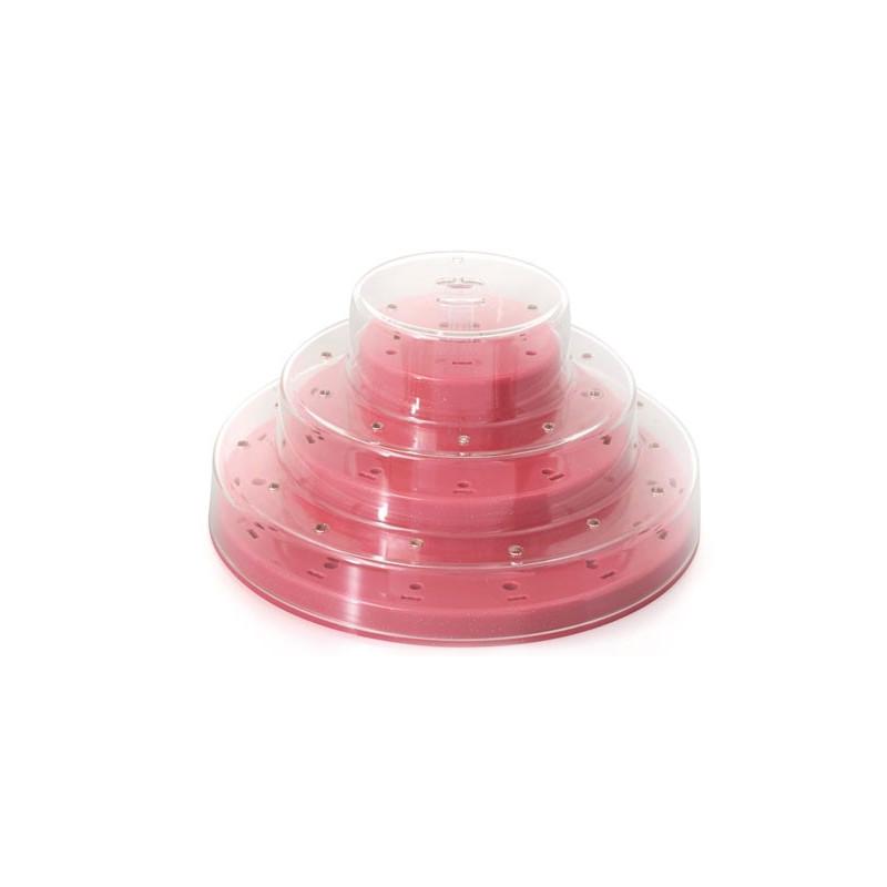 Silikomart Cake Pops ställ, rosa