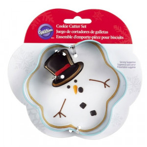Wilton Utstickare Smältande snögubbe