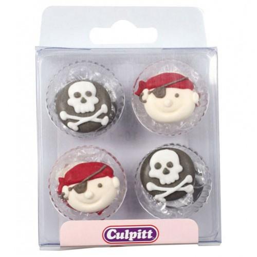 Culpitt Sockerdekorationer Pirat