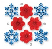 JEM Utstickare Angel Snowflakes