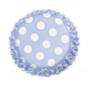 Culpitt Muffinsform Dot China Blue