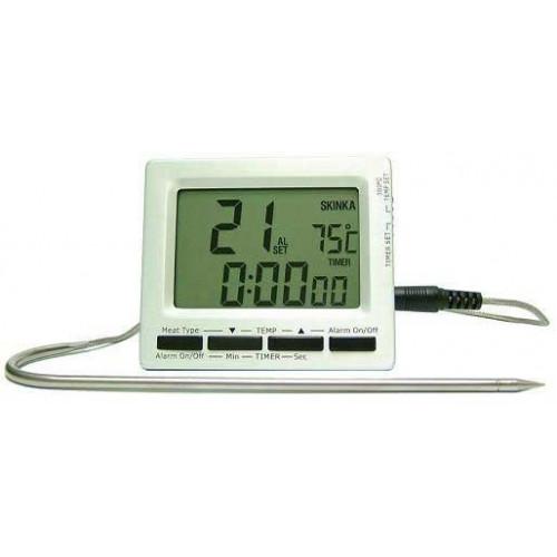 Digital Stektermometer, stora siffror