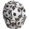 Wilton Muffinsform Color Cups, Fotboll
