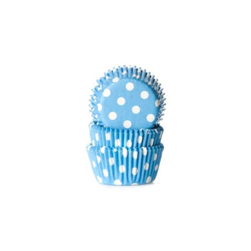 House of Marie Minimuffinsform Polkadot Blue