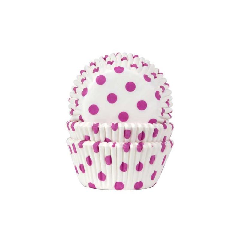 House of Marie Muffinsform Prickiga, Hot Pink