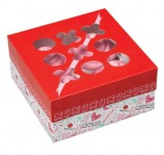 Wilton Cupcake Box Spread Love, liten, 3 st