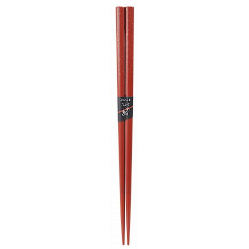 Ätpinnar Japanska, röd och guld, 1 par