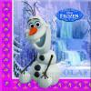 Disney Servetter Frozen, Olaf, lila