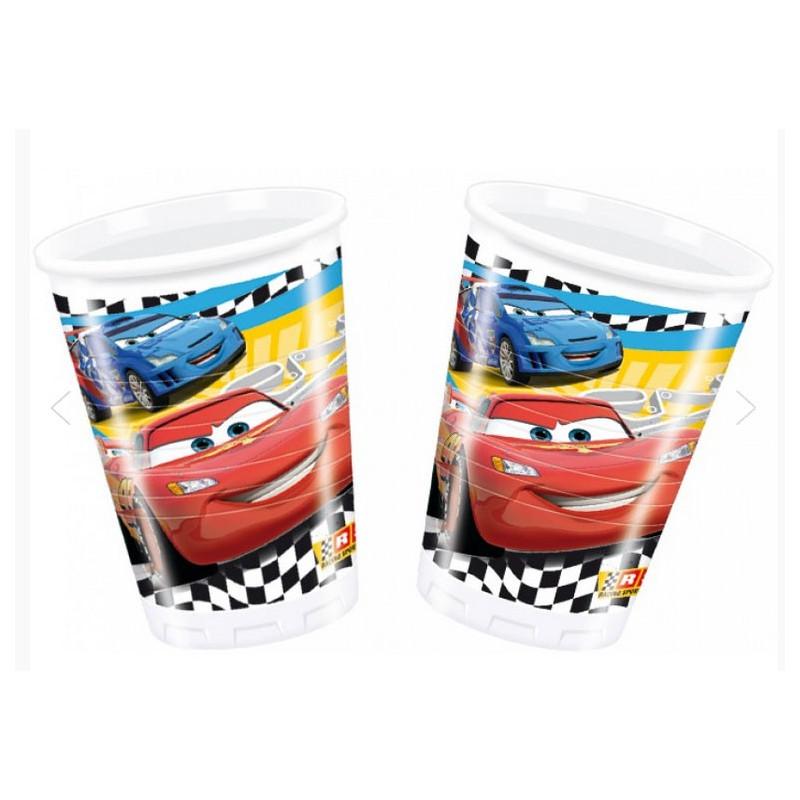 Disney Plastmuggar Cars, racing
