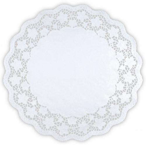 Städter Tårtpapper 20 cm, vit, 6 st