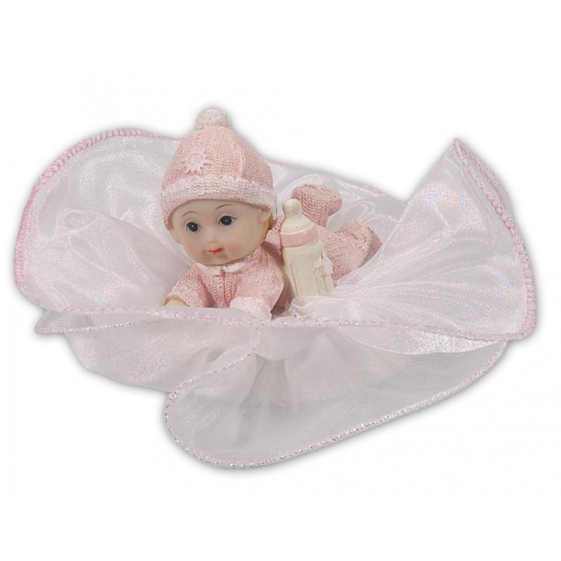 Städter Tårtdekoration baby, rosa