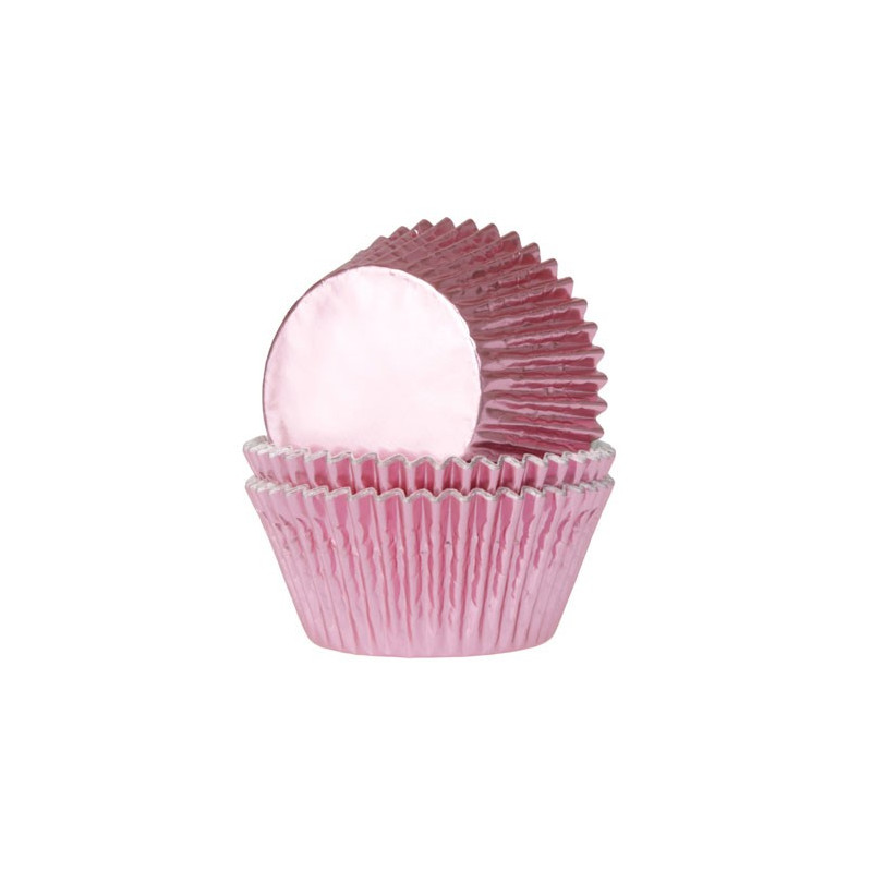 House of Marie Muffinsform Foil Baby Pink