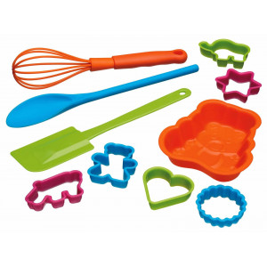 Kitchen Craft Bakset för barn, 10 delar