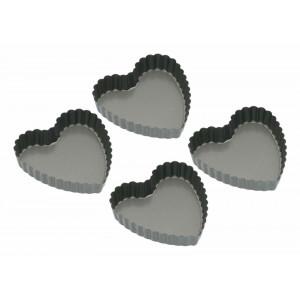 Kitchen Craft Tartelettformar, hjärtformade