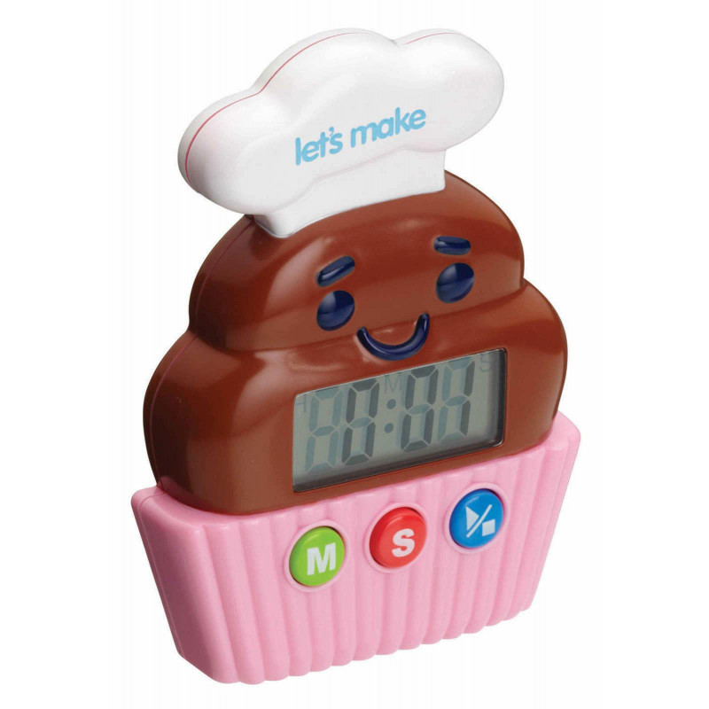 Kitchen Craft Timer Cupcake