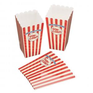 World of Flavours Popcorn boxar