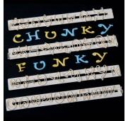 FMM Utstickare Bokstäver och siffror, Chunky Funky