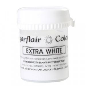 Sugarflair Pastafärg Extra Vit