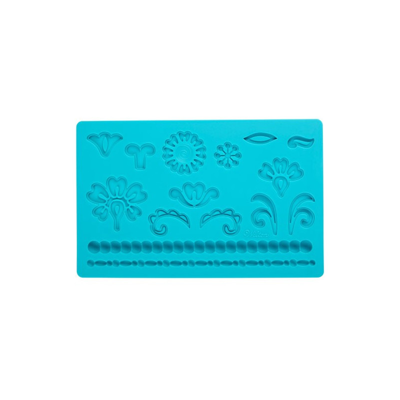 Wilton Silikonform Damask