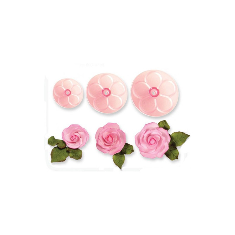 JEM Utstickare Rosor, 5, 6 och 8 cm