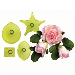 JEM Utstickare Large Rose Set