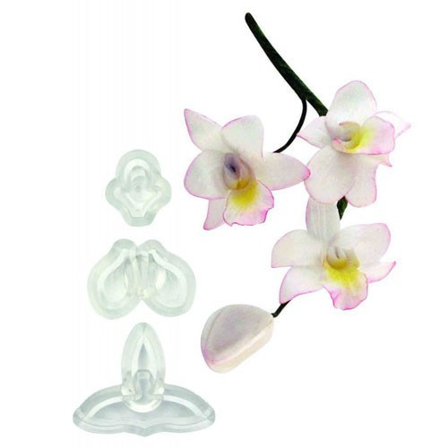 JEM Utstickare Singapore orkidée, liten