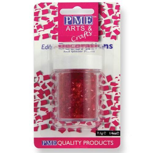 PME ätbart glitter, röd