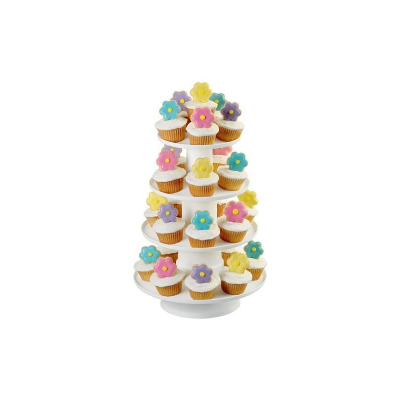 Wilton 4-Tier Stacked Dessert Tower