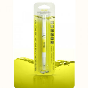 Rainbow Dust Livsmedelspenna, Yellow