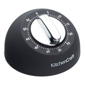 Kitchen Craft Mekanisk Timer, svart