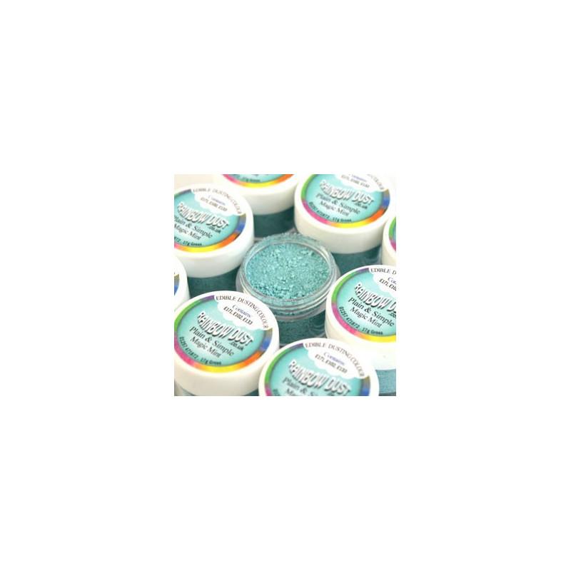 Rainbow Dust Pulverfärg Magic Mint
