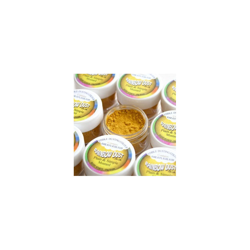 Rainbow Dust Pulverfärg Mustard