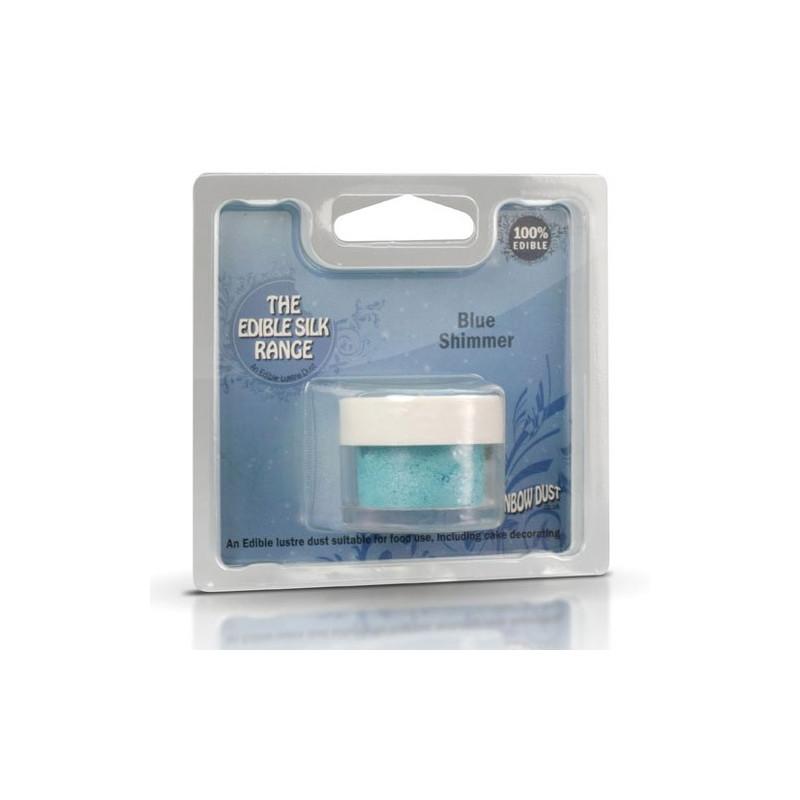 Rainbow Dust Pulverfärg Blue Shimmer
