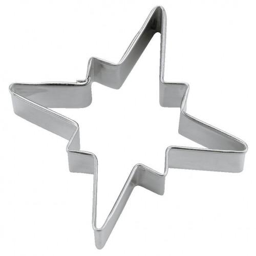 Städter Utstickare Snöflinga Stjärna, 6 cm