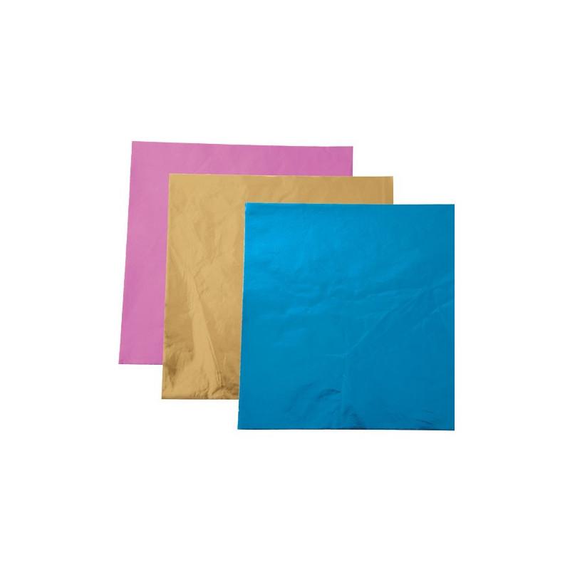 Wilton Candy Wrappers Godispapper, rosa guld blå