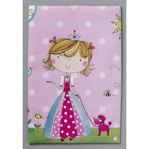 Bordsduk i plast, Prinsessa, 120 x 180 cm
