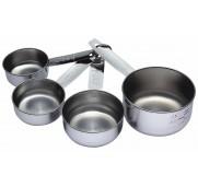 Kitchen Craft Måttsats Cups, rostfritt stål